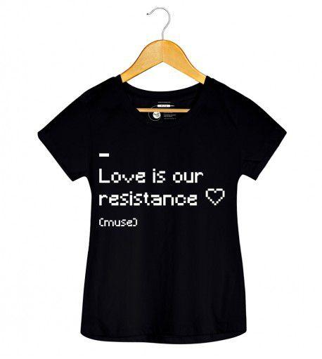 Camiseta - Resistance - Muse - Feminino