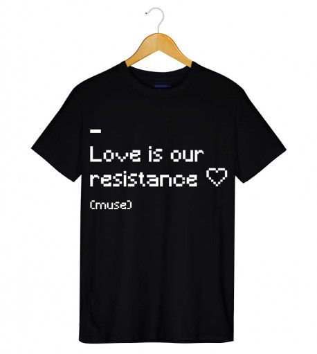 Camiseta - Resistance - Muse - Masculino