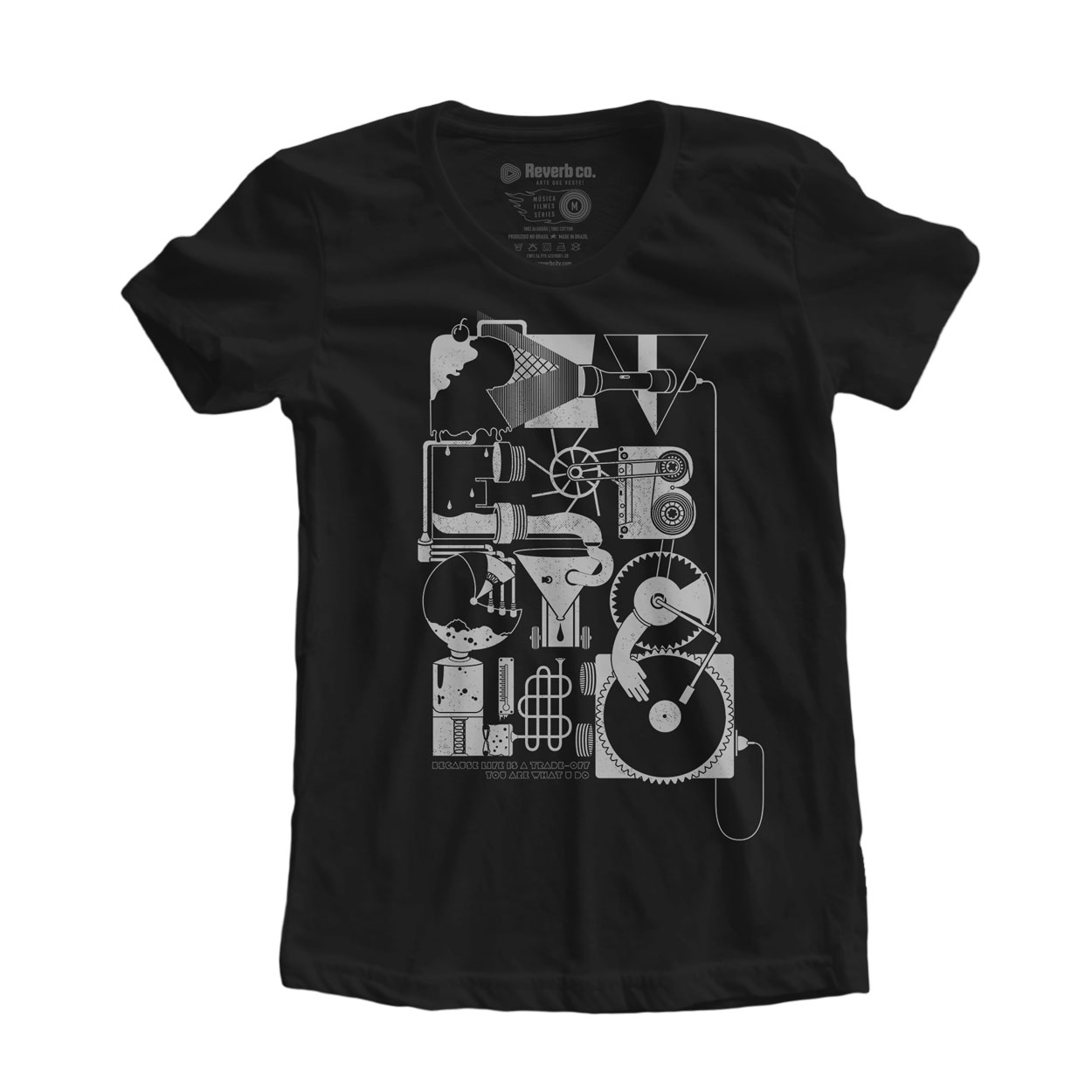 Camiseta Reverb Cycle - Feminino