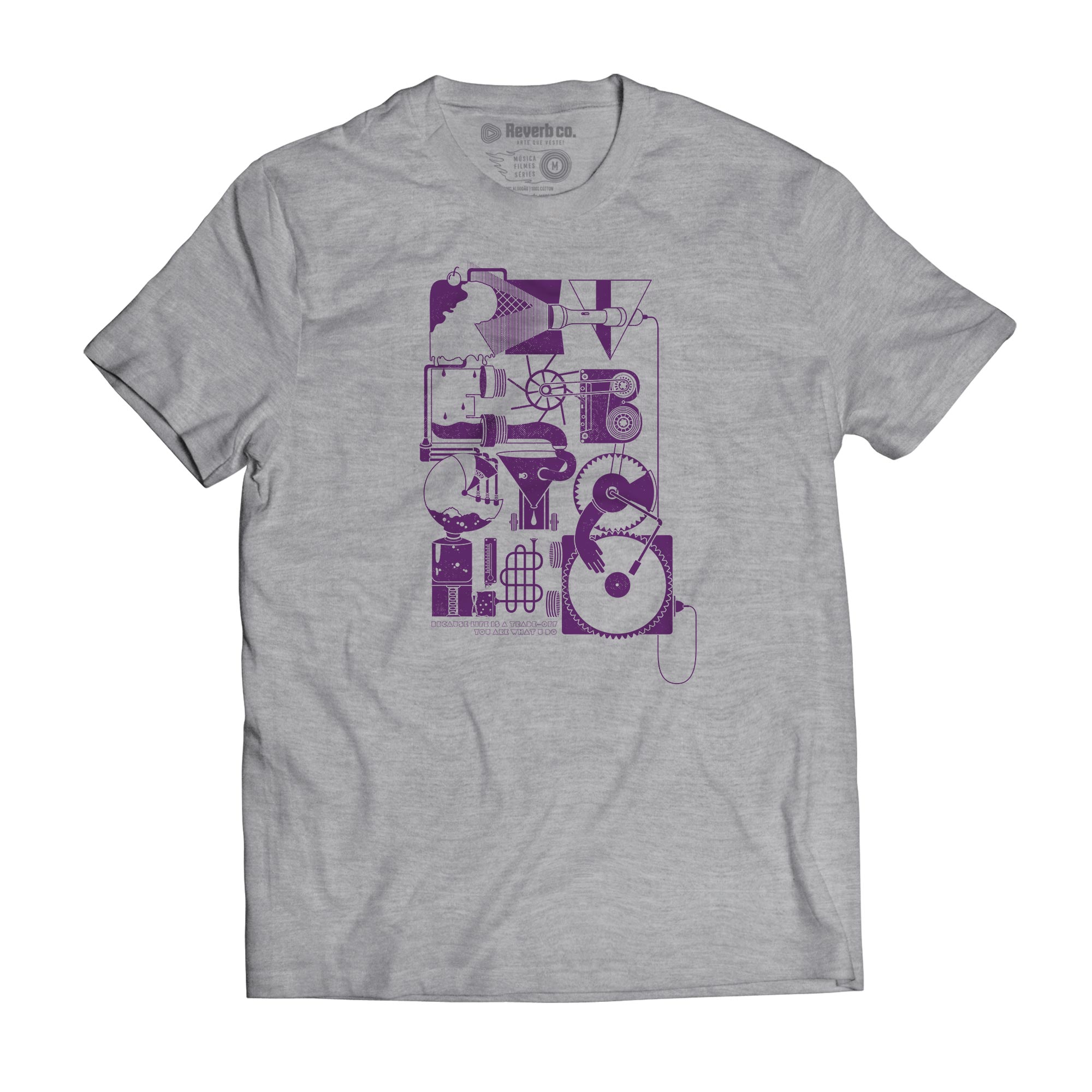 Camiseta Reverb Cycle - Masculino