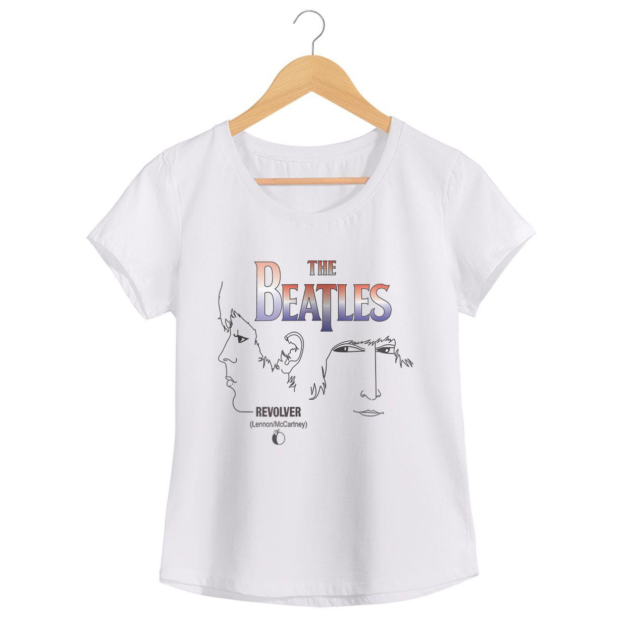 Camiseta Revolver - The Beatles - Feminino