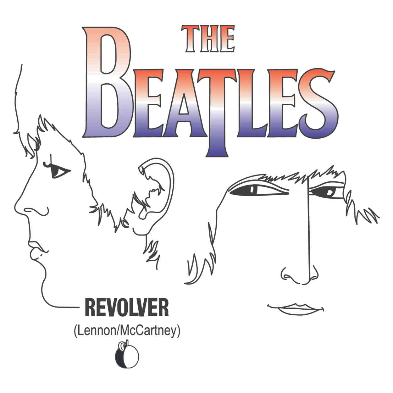 Camiseta - Revolver - The Beatles - Infantil