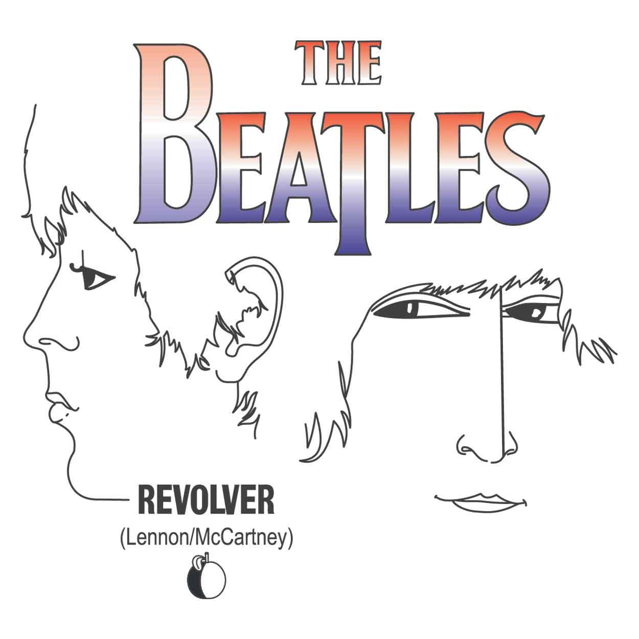 Camiseta Revolver - The Beatles - Infantil