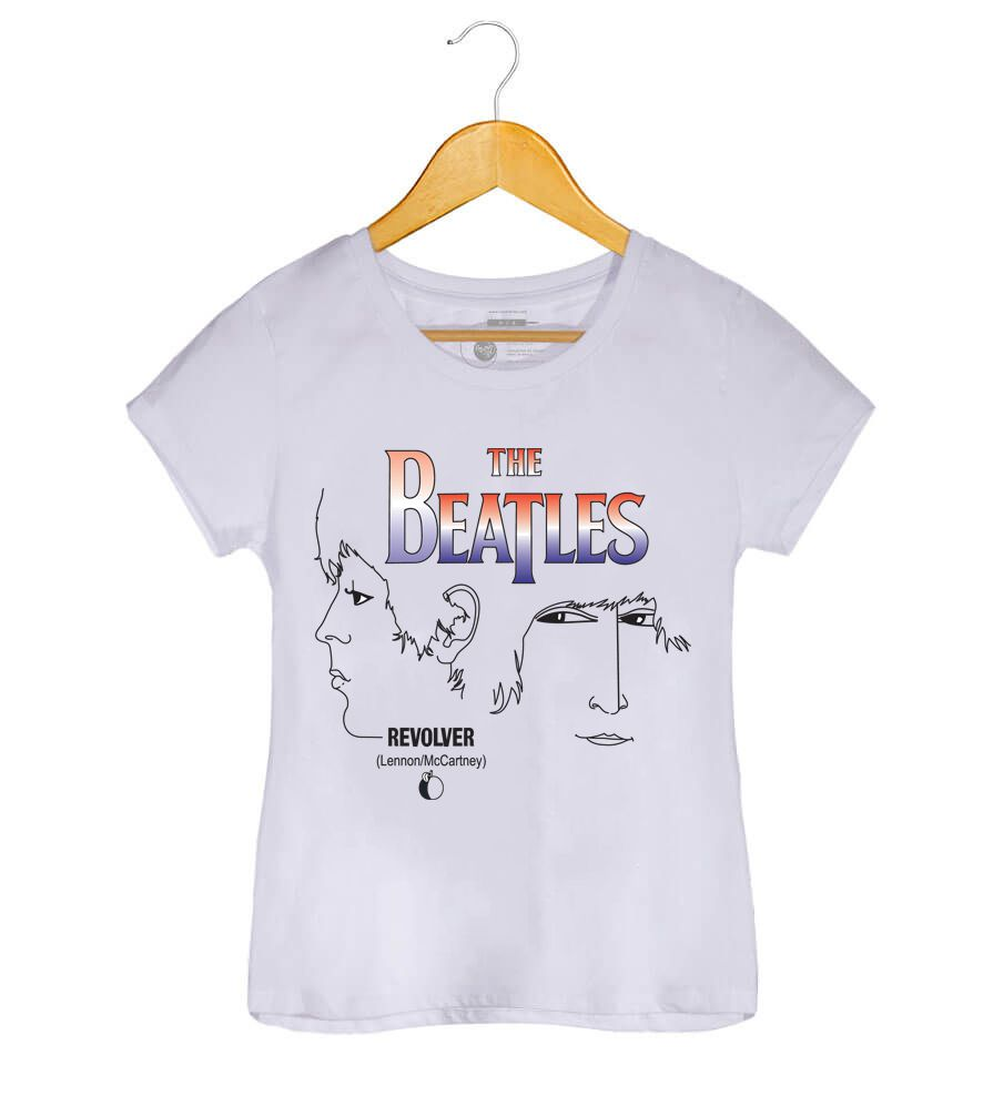 Camiseta -Revolver - The Beatles - Masculino