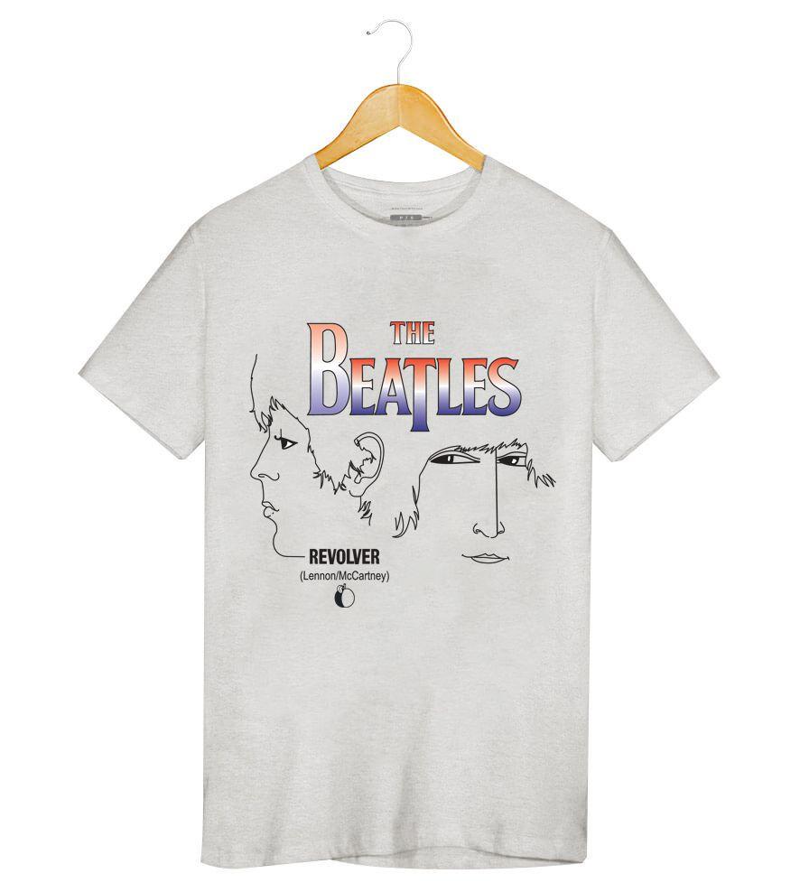 Camiseta - Revolver - The Beatles - Masculino