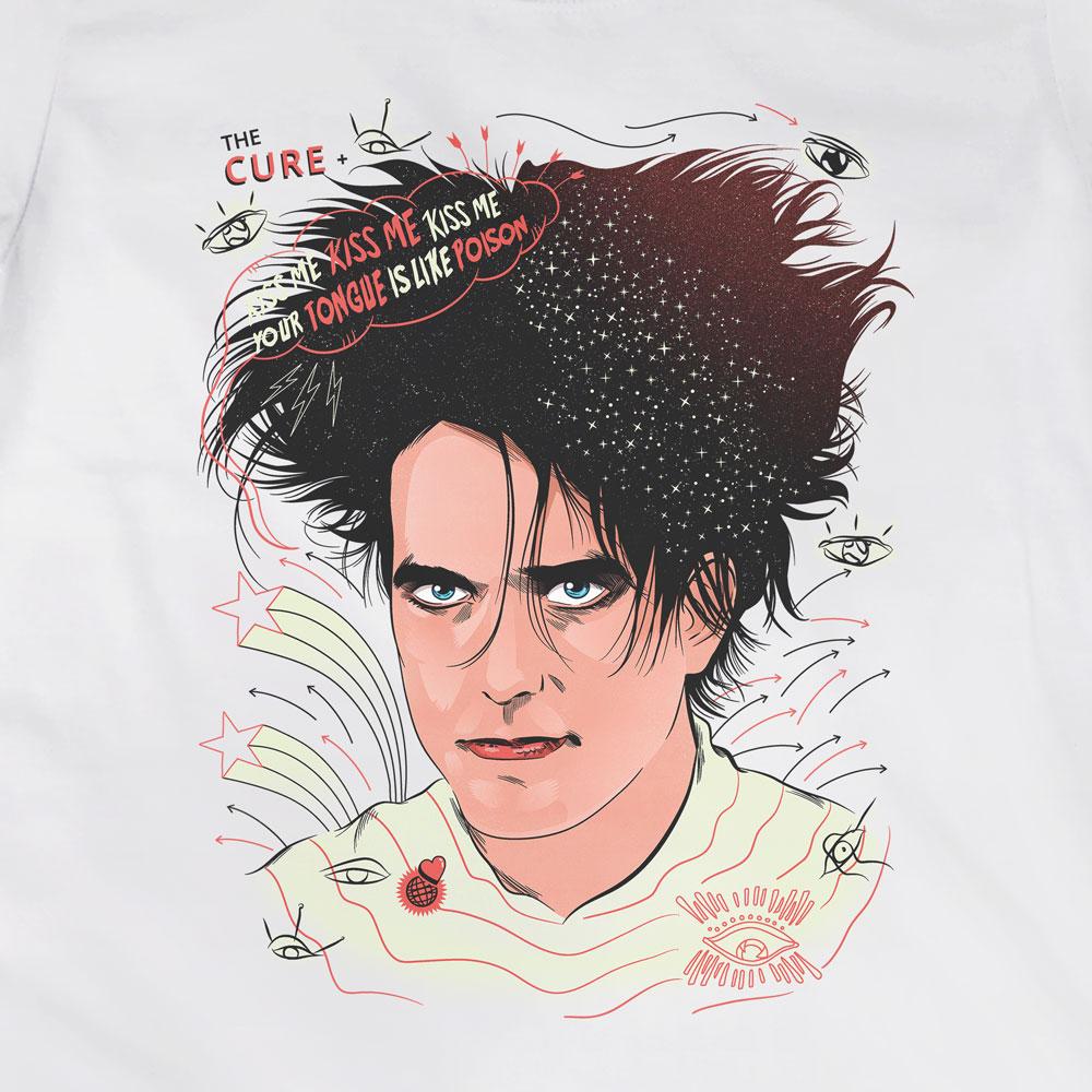 Camiseta Robert Smith - The Cure - Feminino