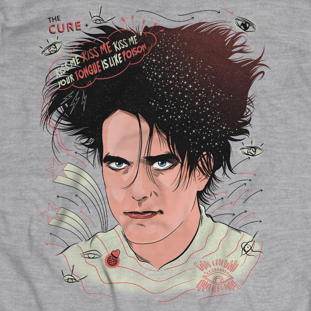 Camiseta Robert Smith - The Cure - Masculino