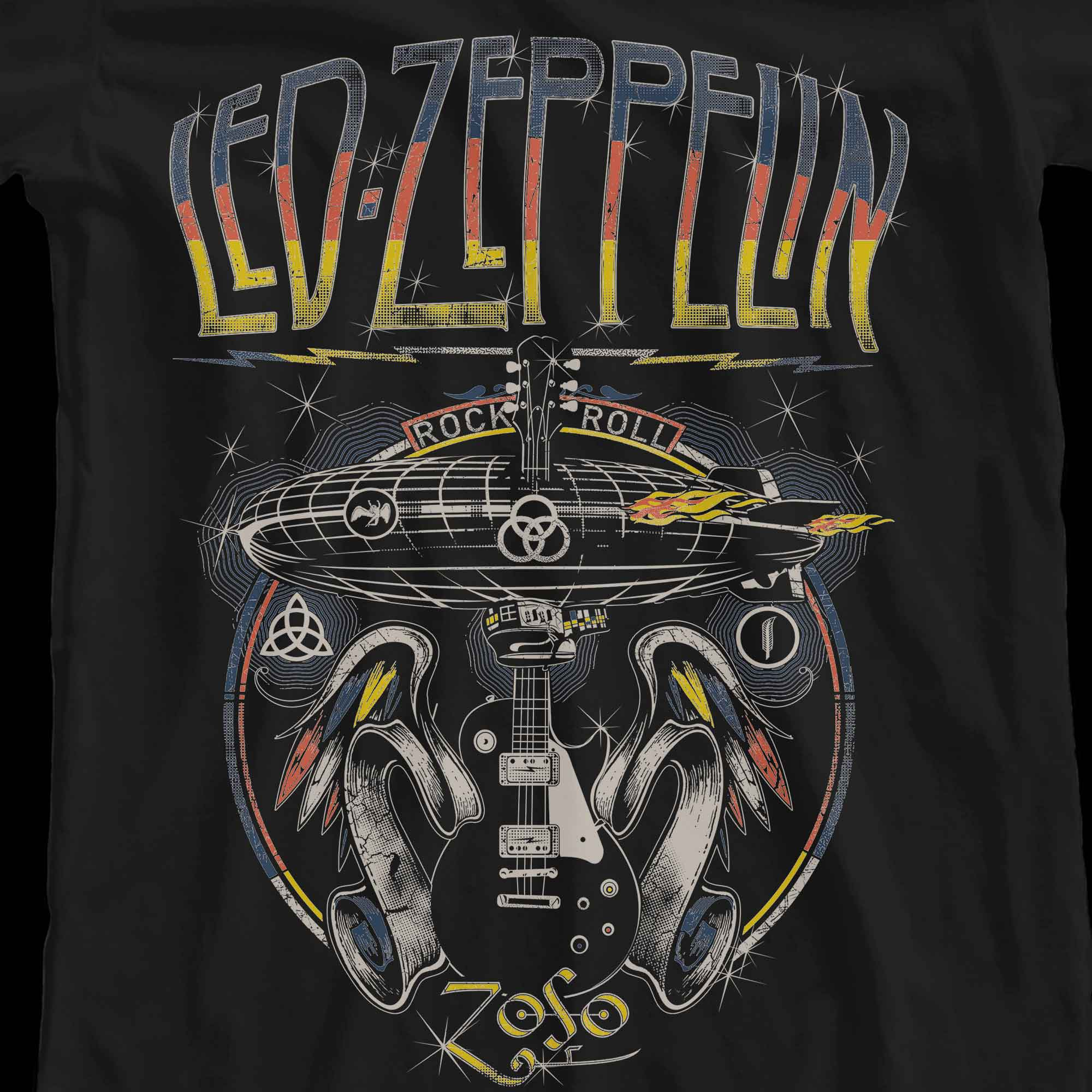 Camiseta Rock and Roll - Led Zeppelin - Feminino