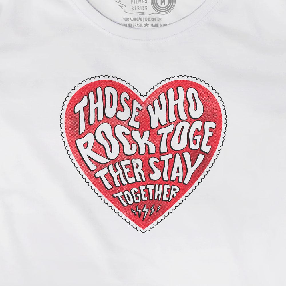 Camiseta Rock Together - Feminino