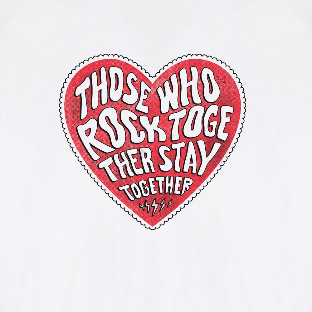 Camiseta Rock Together -  Masculino