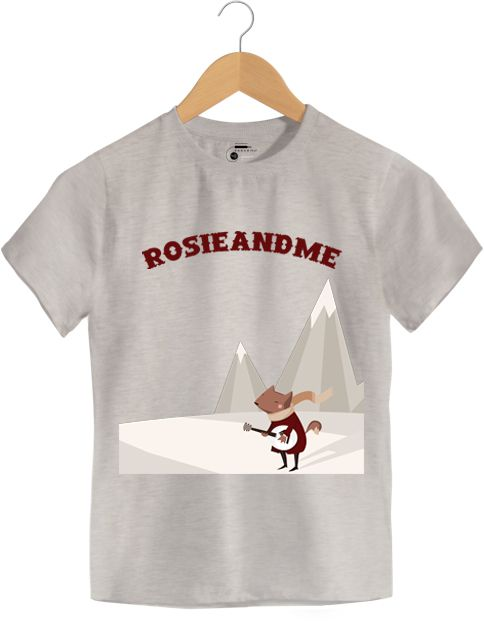 Camiseta - Rosie And Me - Infantil