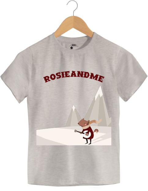 Camiseta - Rosie And Me - Infantil