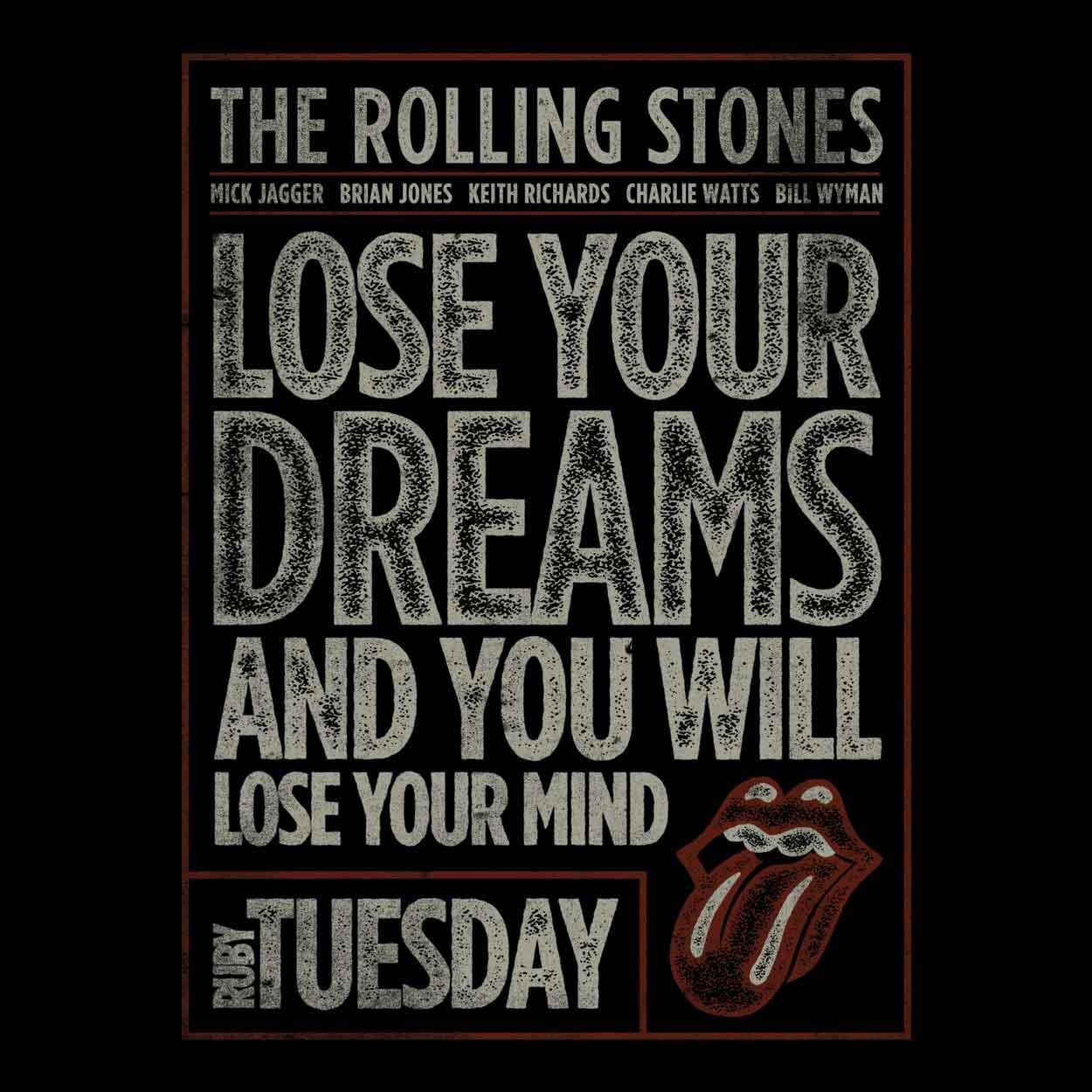 Camiseta Ruby Tuesday - The Rolling Stones - Feminino