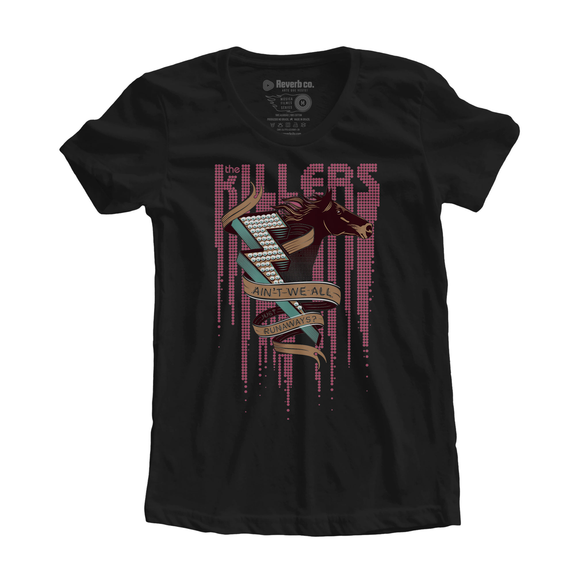 Camiseta Runaways - The Killers - Feminino