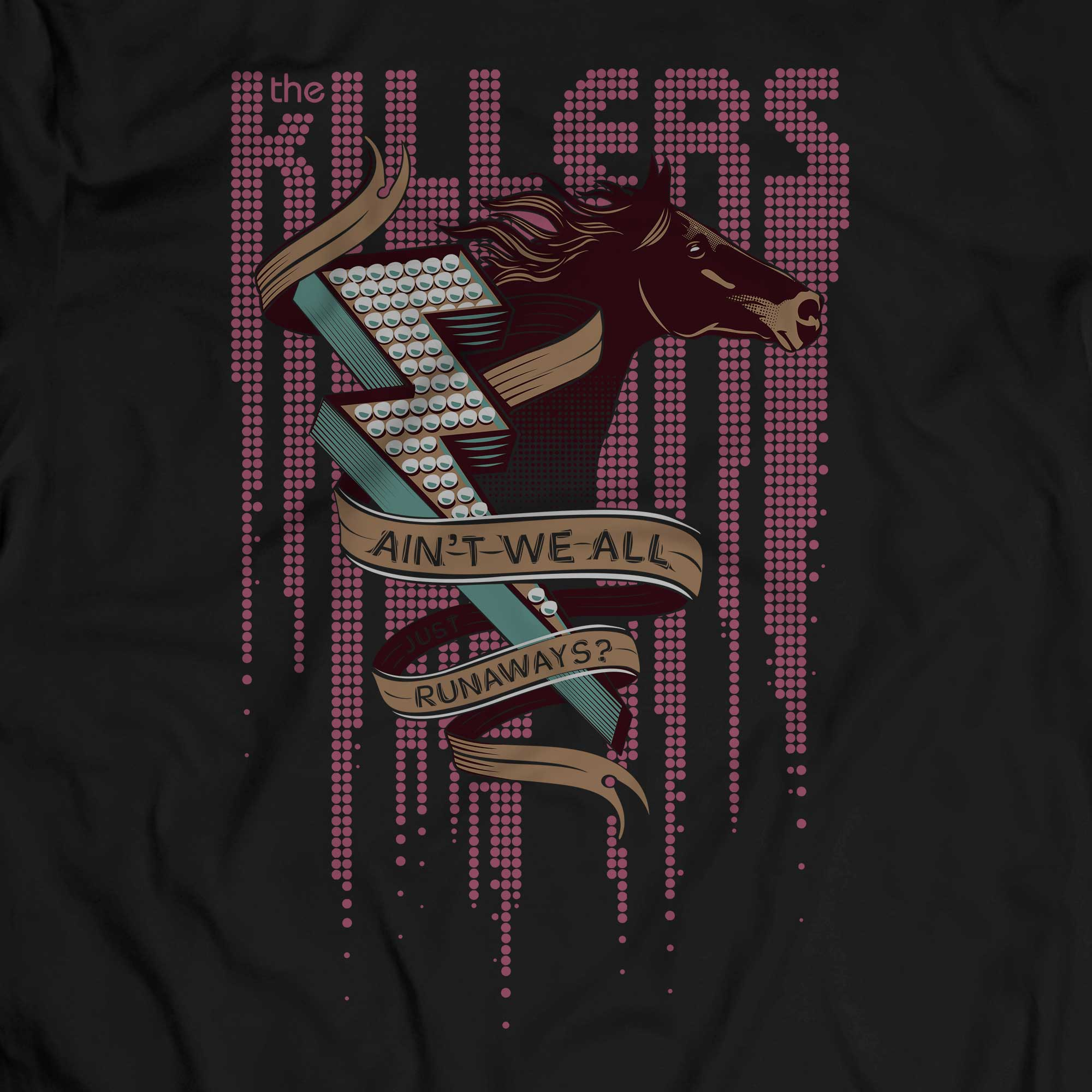 Camiseta Runaways - The Killers - Masculino