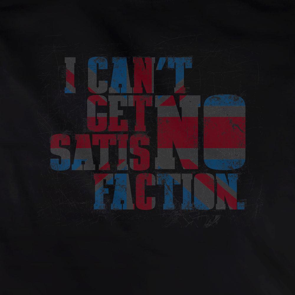 Camiseta Satisfaction - The Rolling Stones - Feminino