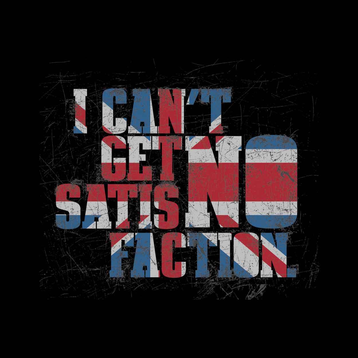 Camiseta - Satisfaction - The Rolling Stones - Masculino