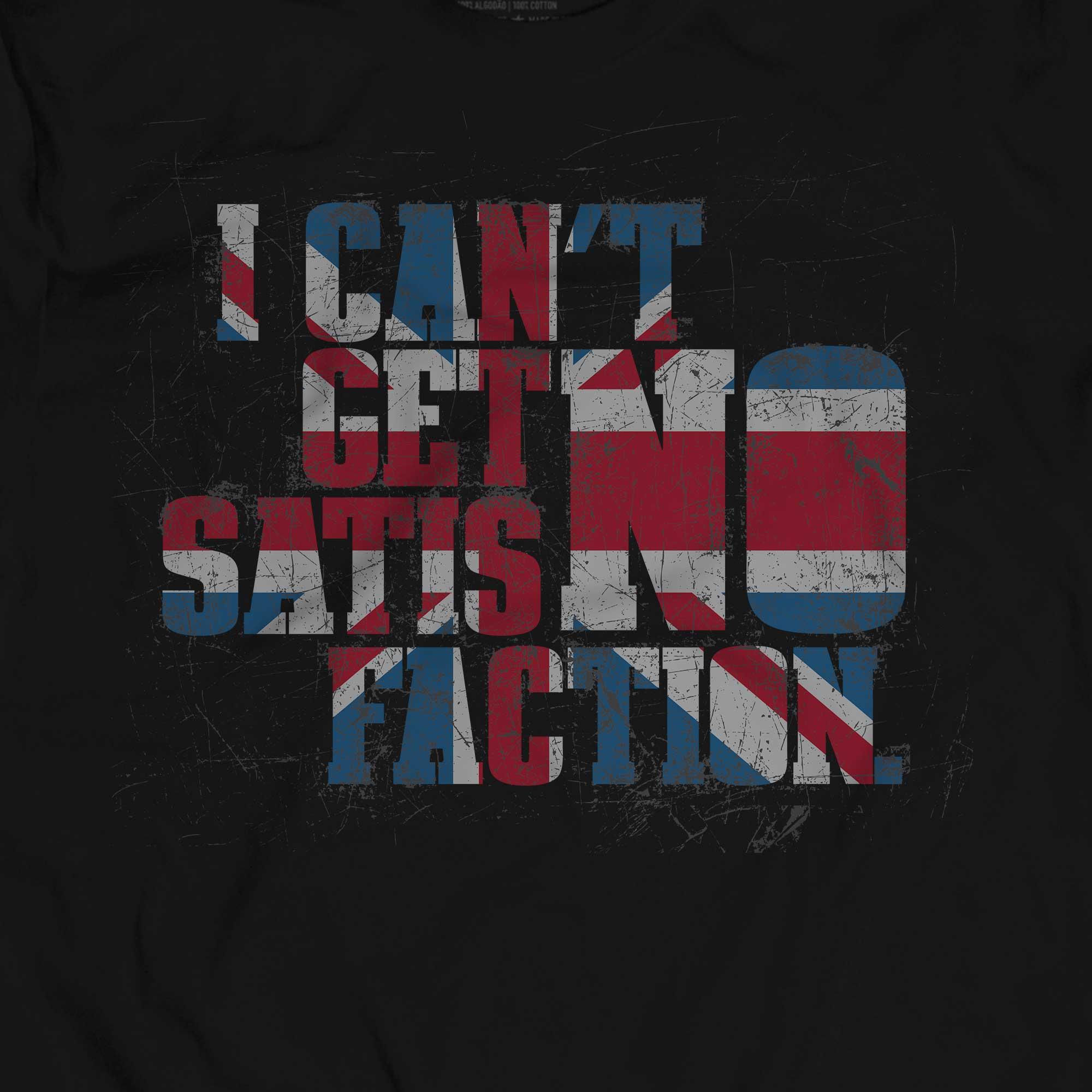 Camiseta Satisfaction - The Rolling Stones - Masculino
