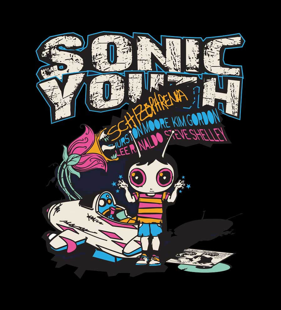Camiseta - Schizophrenia - Sonic Youth - Feminino