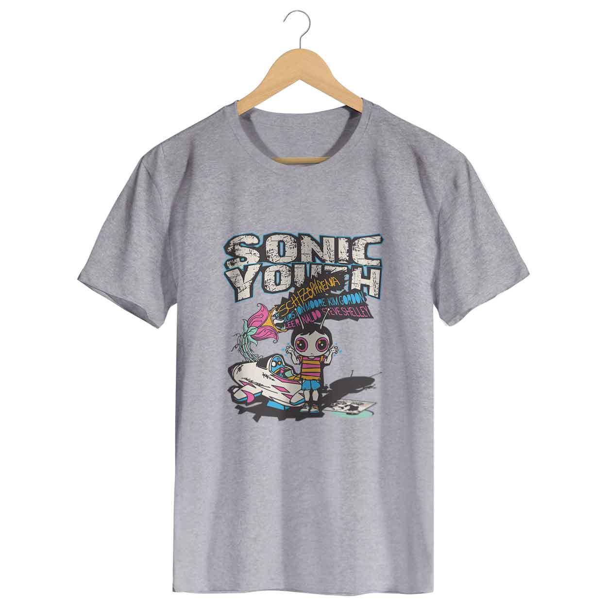 Camiseta Schizophrenia - Sonic Youth - Masculino