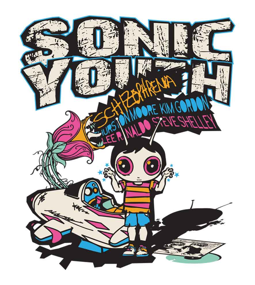 Camiseta - Schizophrenia - Sonic Youth - Masculino