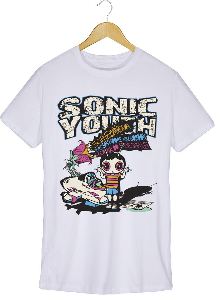 Camiseta - Schizophrenia - Sonic Youth - Masculino