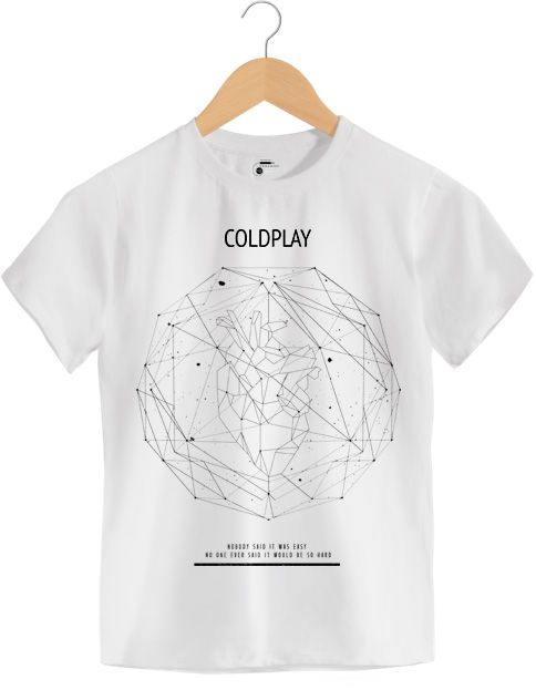 Camiseta - Scientist - Coldplay - Infantil