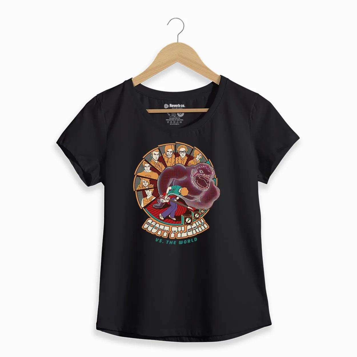 Camiseta - Scott Pilgrim - Feminino