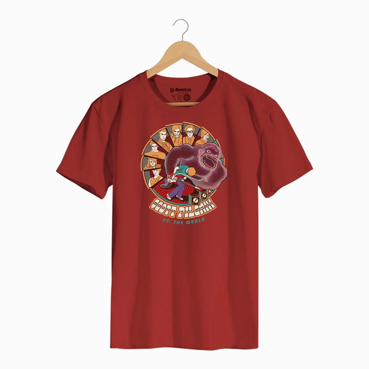 Camiseta -  Scott Pilgrim - Masculino