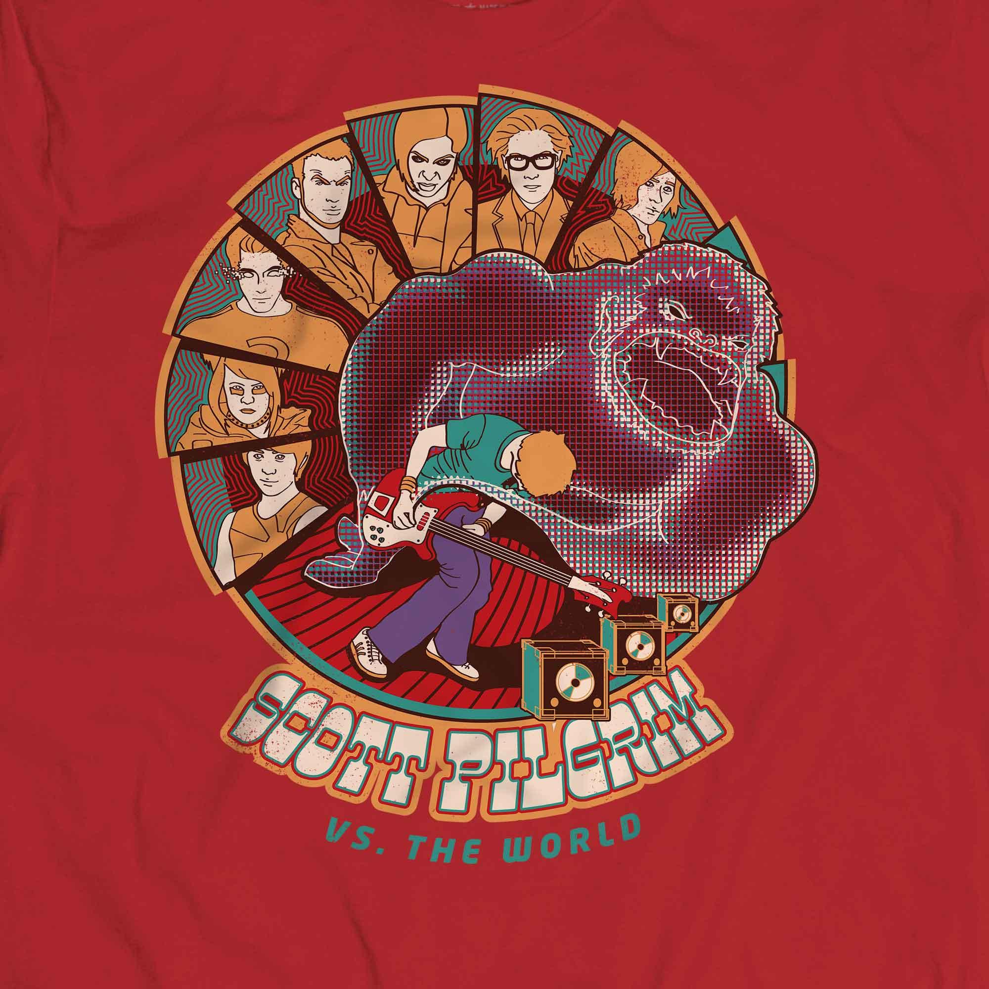 Camiseta Scott Pilgrim - Masculino