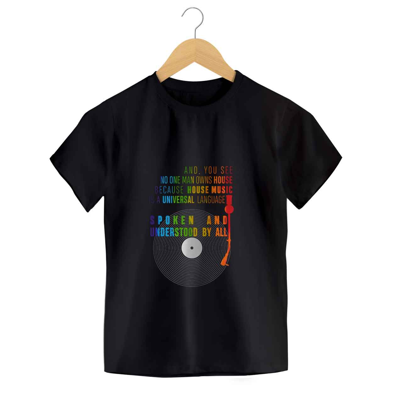 Camiseta Seasons Of Jack - House Music - Disco - infantil