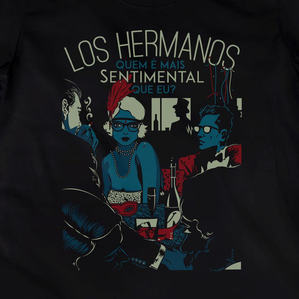 Camiseta Sentimental - Los Hermanos - Feminino