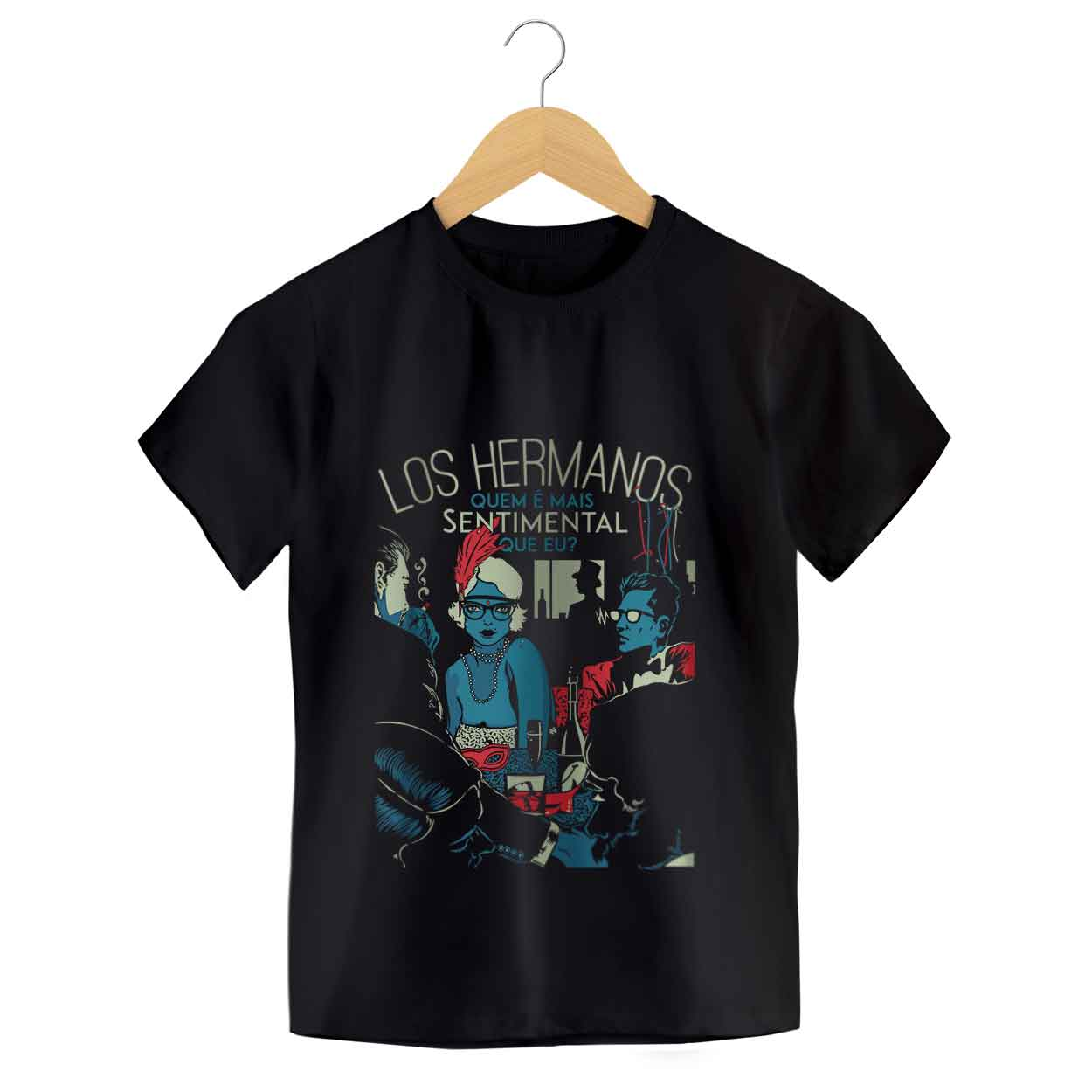 Camiseta - Sentimental - Los Hermanos - Infantil
