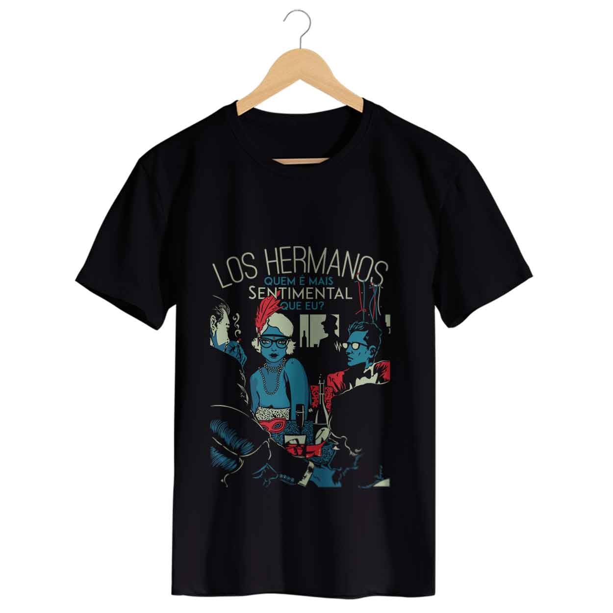 Camiseta - Sentimental - Los Hermanos - Masculino