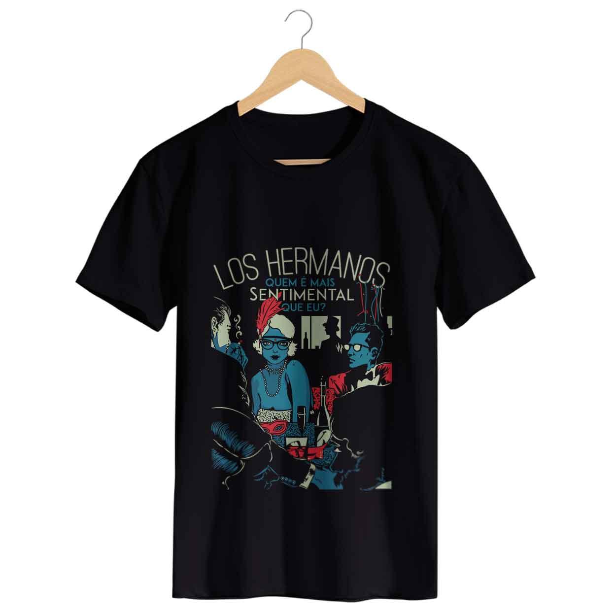 Camiseta Sentimental - Los Hermanos - Masculino