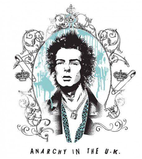 Camiseta Sex Pistols - Sid Vicious - Masculino