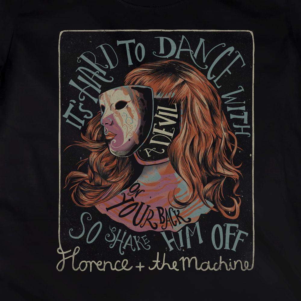Camiseta Shake It Out - Florence and The Machine - Feminino