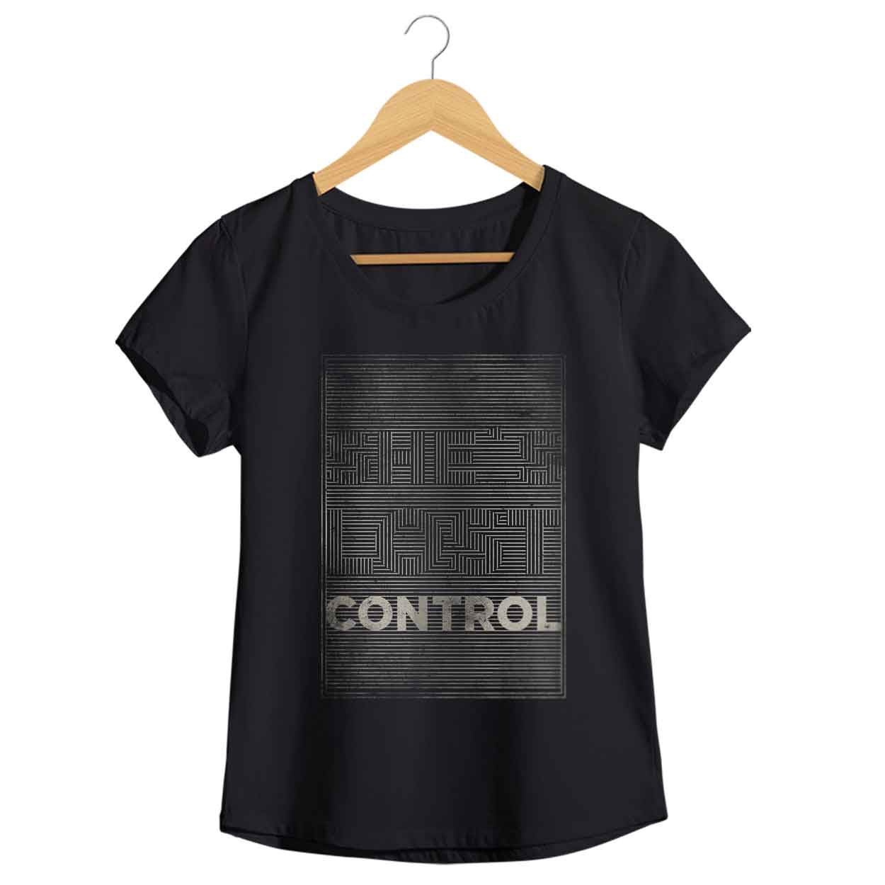 Camiseta - She's Lost Control - Joy Division - Feminino