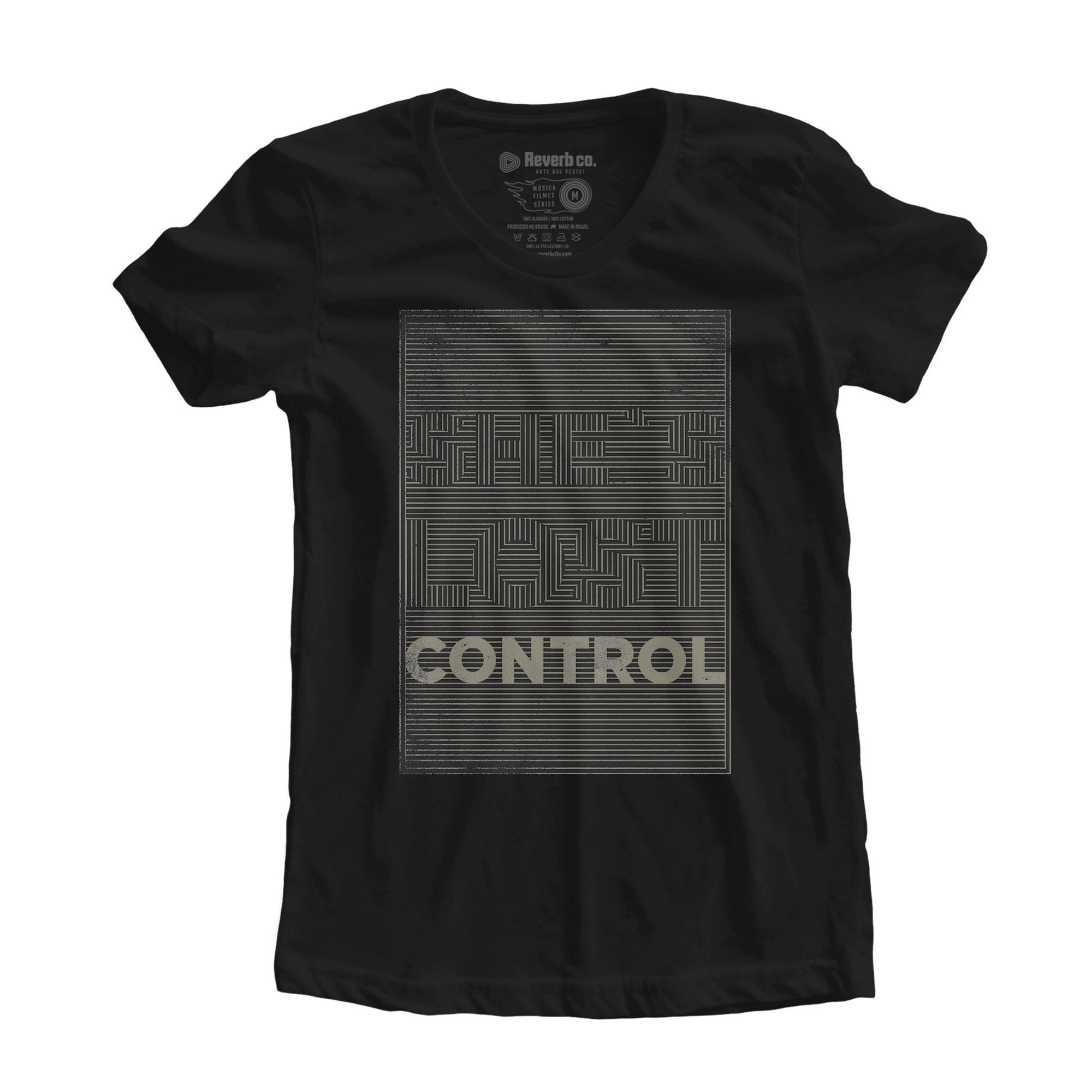 Camiseta She's Lost Control - Joy Division - Feminino