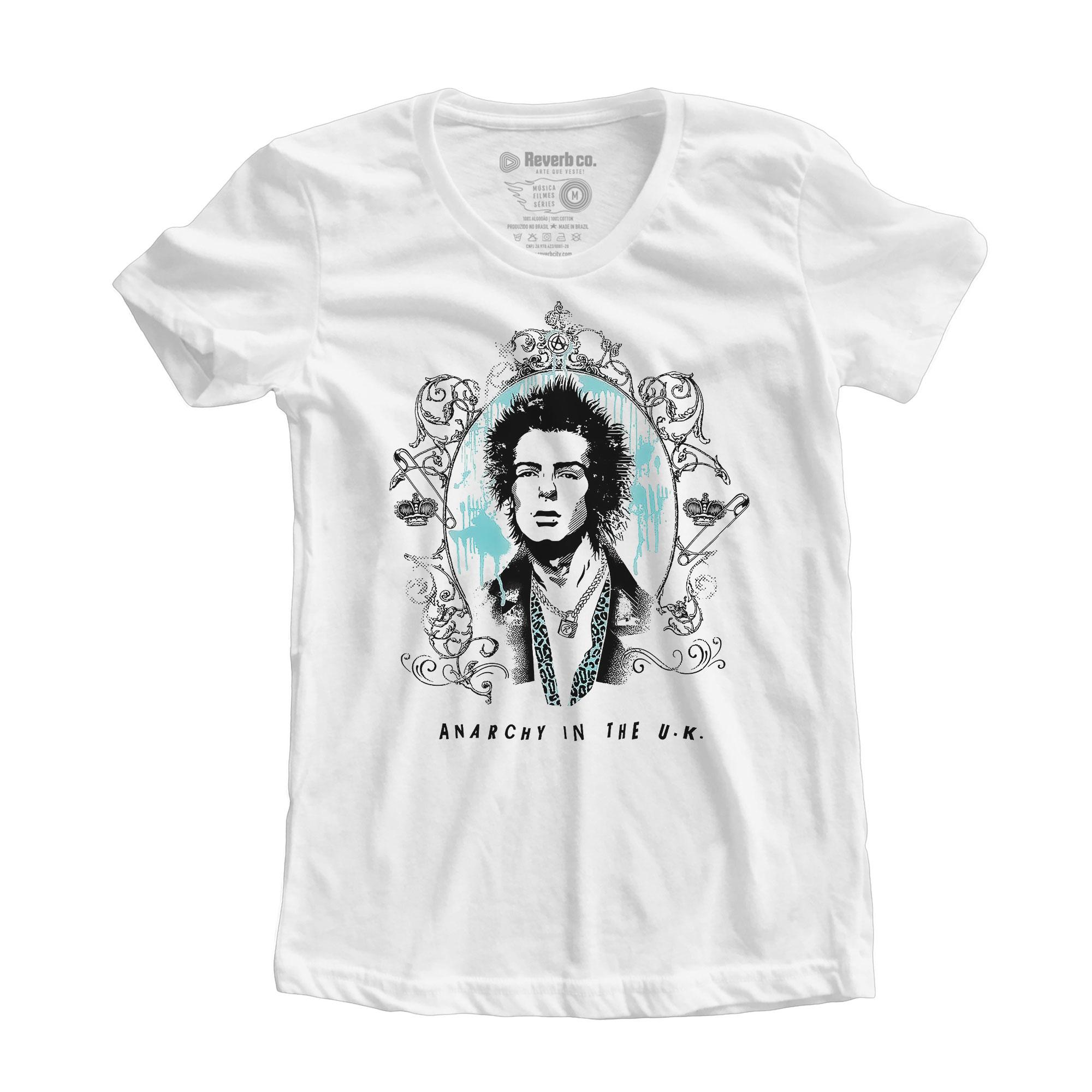 Camiseta Sid Vicious -  Sex Pistols - Feminino