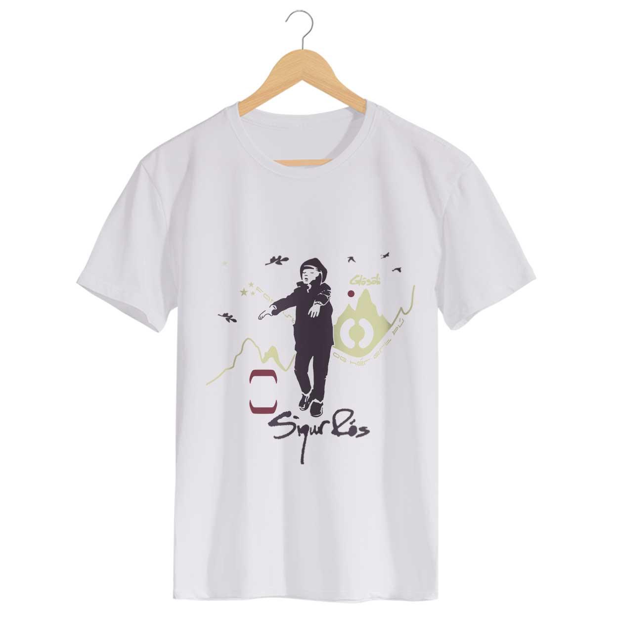 Camiseta Sigur Rós - Glosoli - Masculino