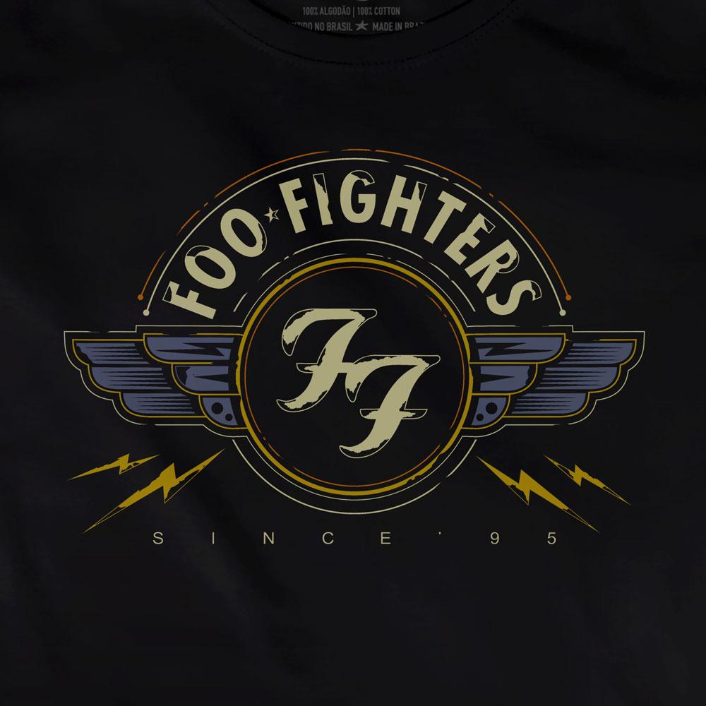Camiseta Since 95 - Foo Fighters -  Feminino