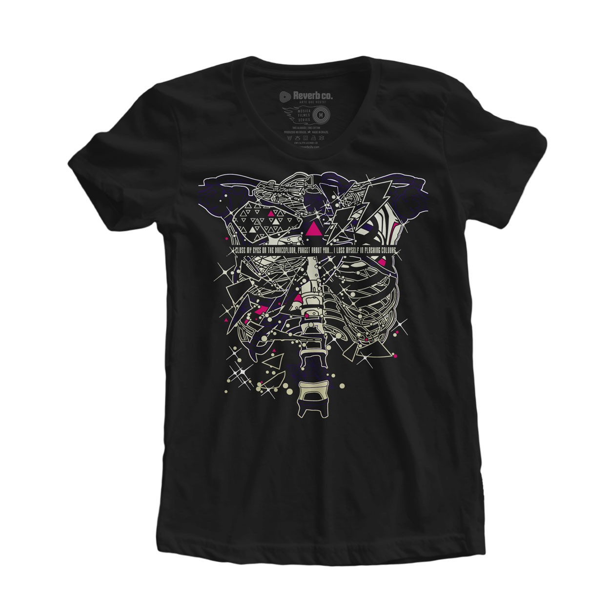 Camiseta Skeleton Boy - Friendly Fires - Feminino