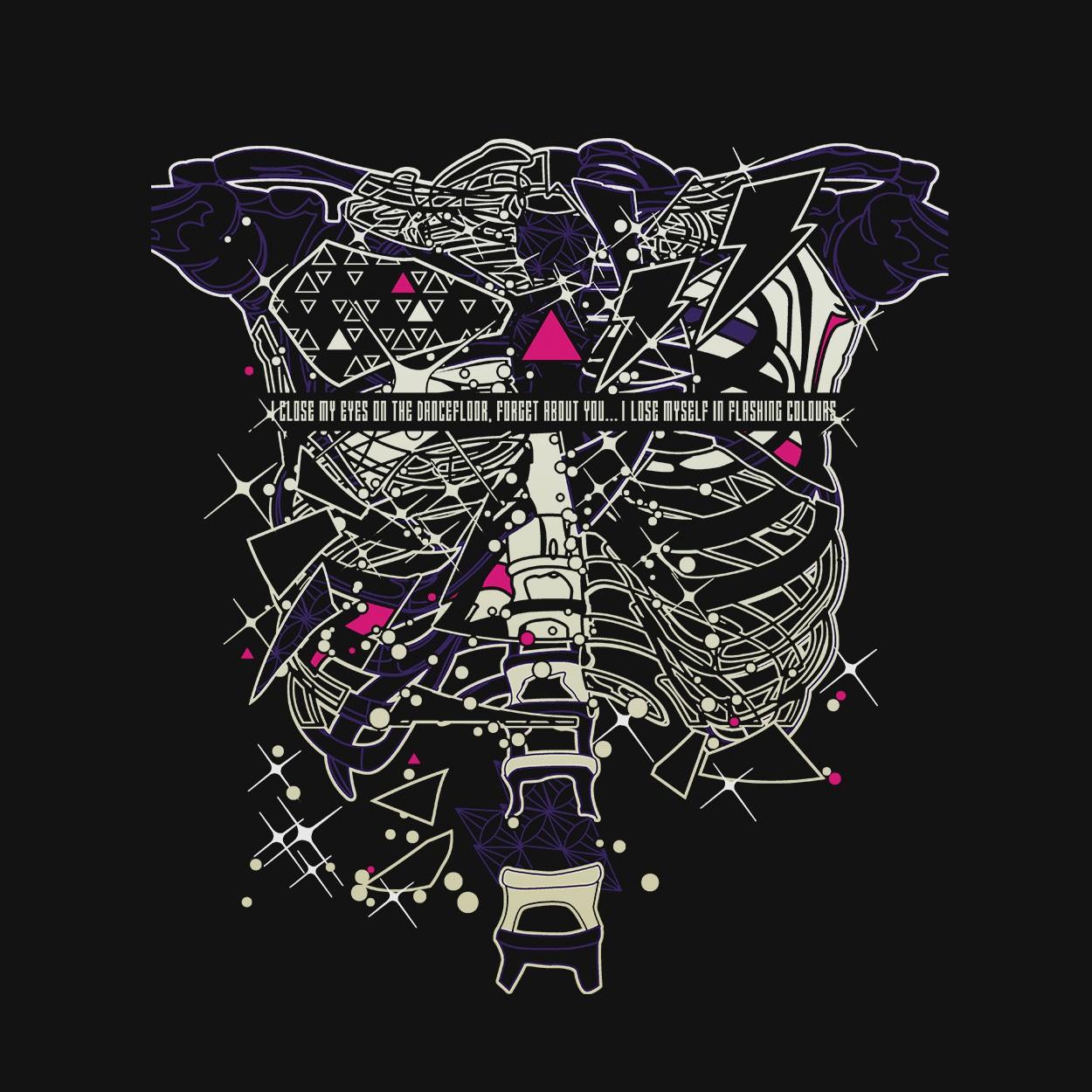 Camiseta Skeleton Boy - Friendly Fires - Masculino