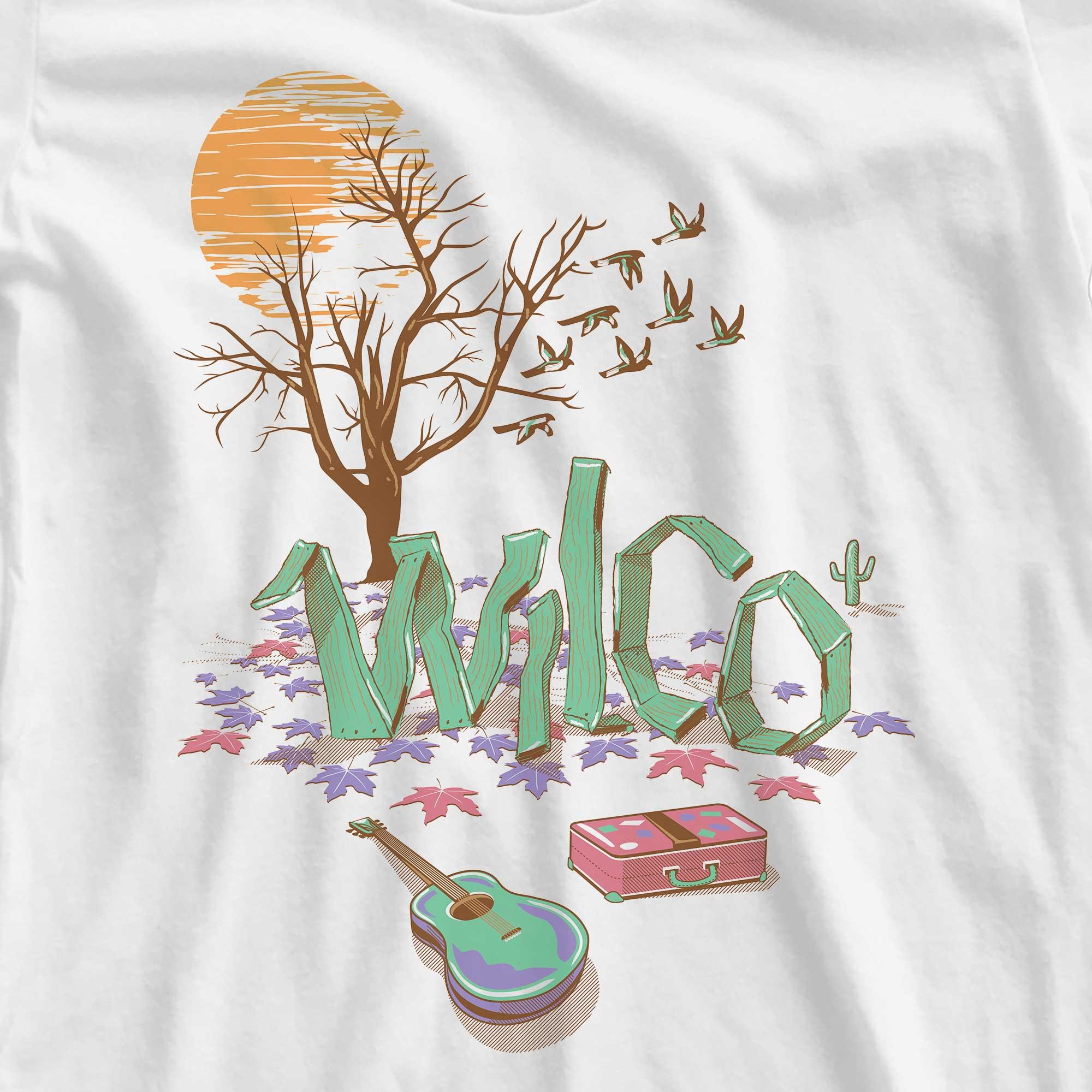 Camiseta Sky Blue Sky - Wilco - Feminino