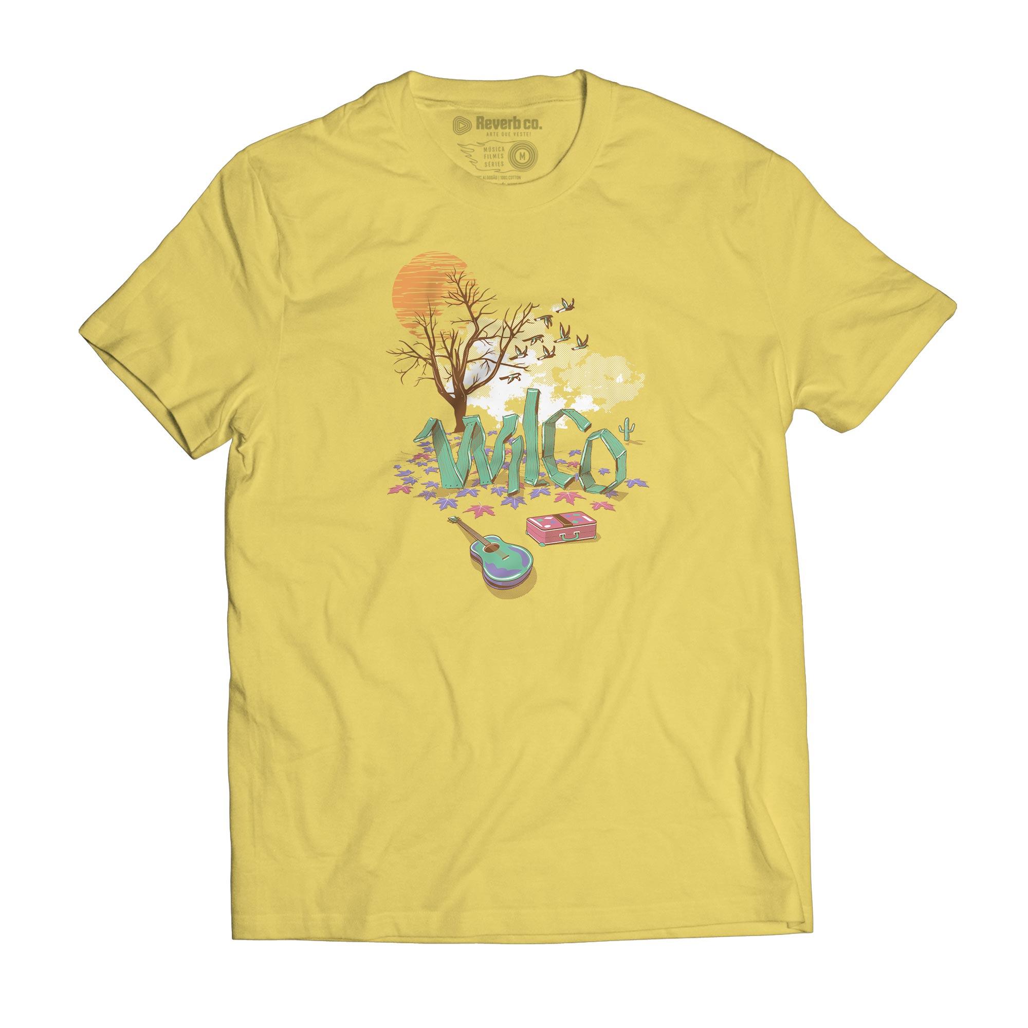 Camiseta Sky Blue Sky - Wilco - Masculino