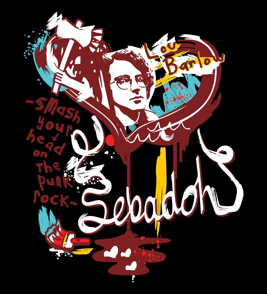 Camiseta Smash Your Head - Sebadoh - Feminino