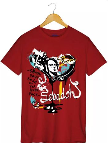 Camiseta - Smash Your Head on the Punk Rock - Sebadoh - Masculino