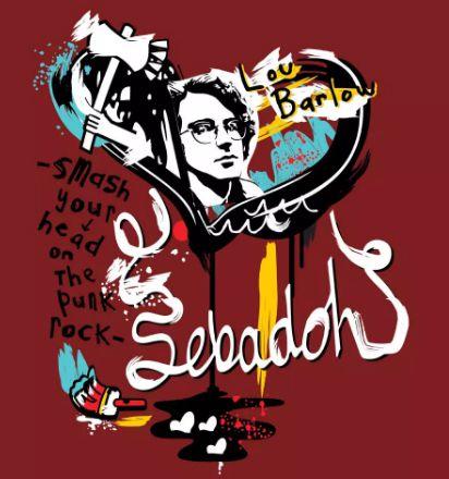 Camiseta Smash Your Head on the Punk Rock - Sebadoh - Masculino