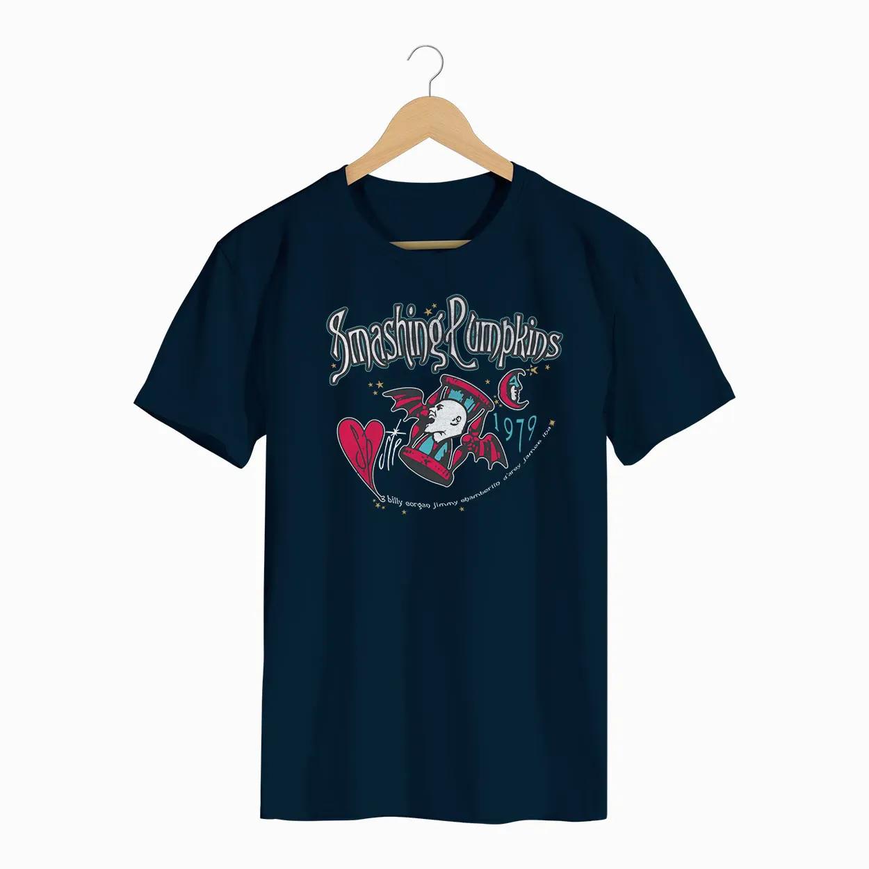 Camiseta -  Smashing Pumpkins - Masculino